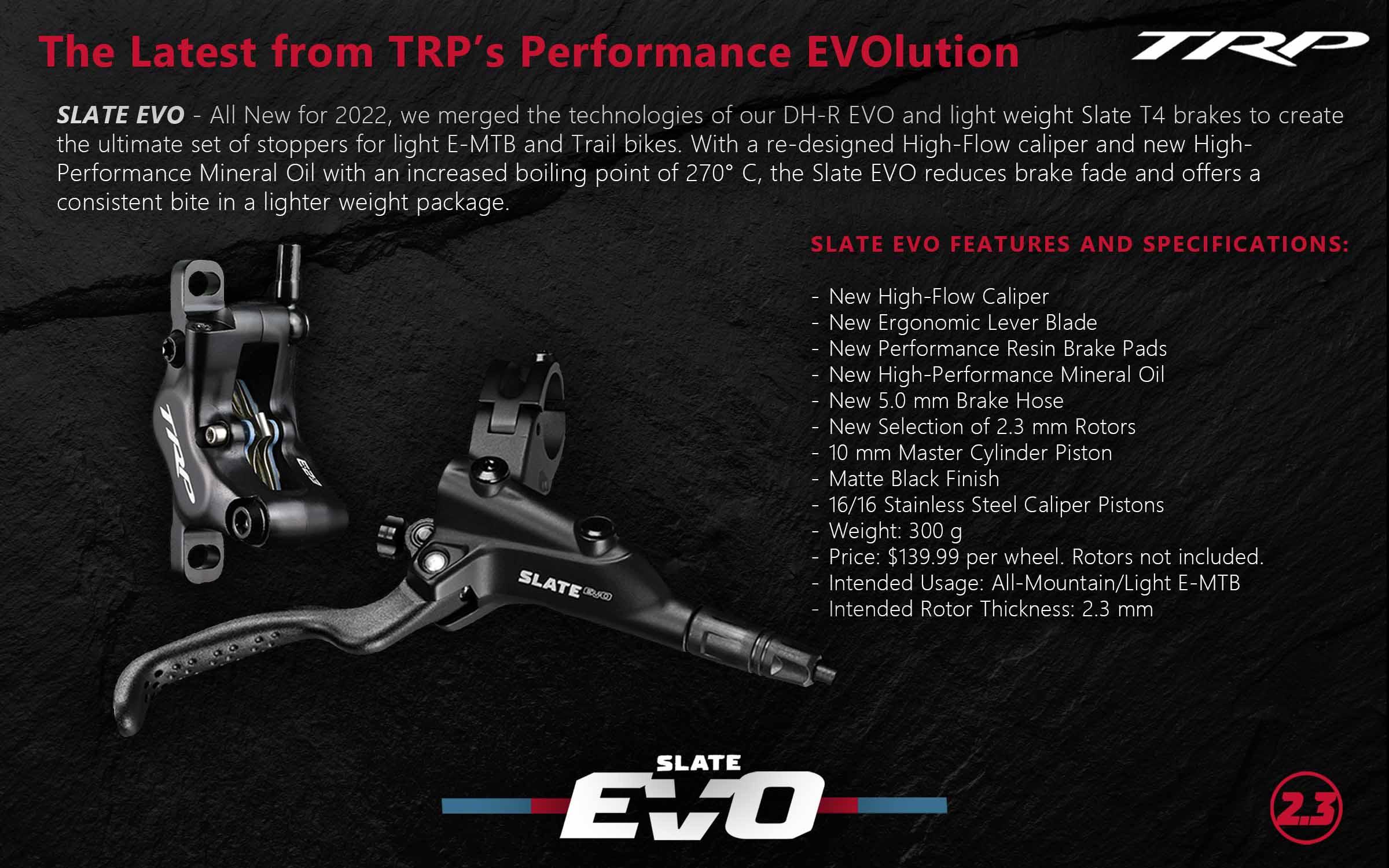 TRP Slate EVO brakes
