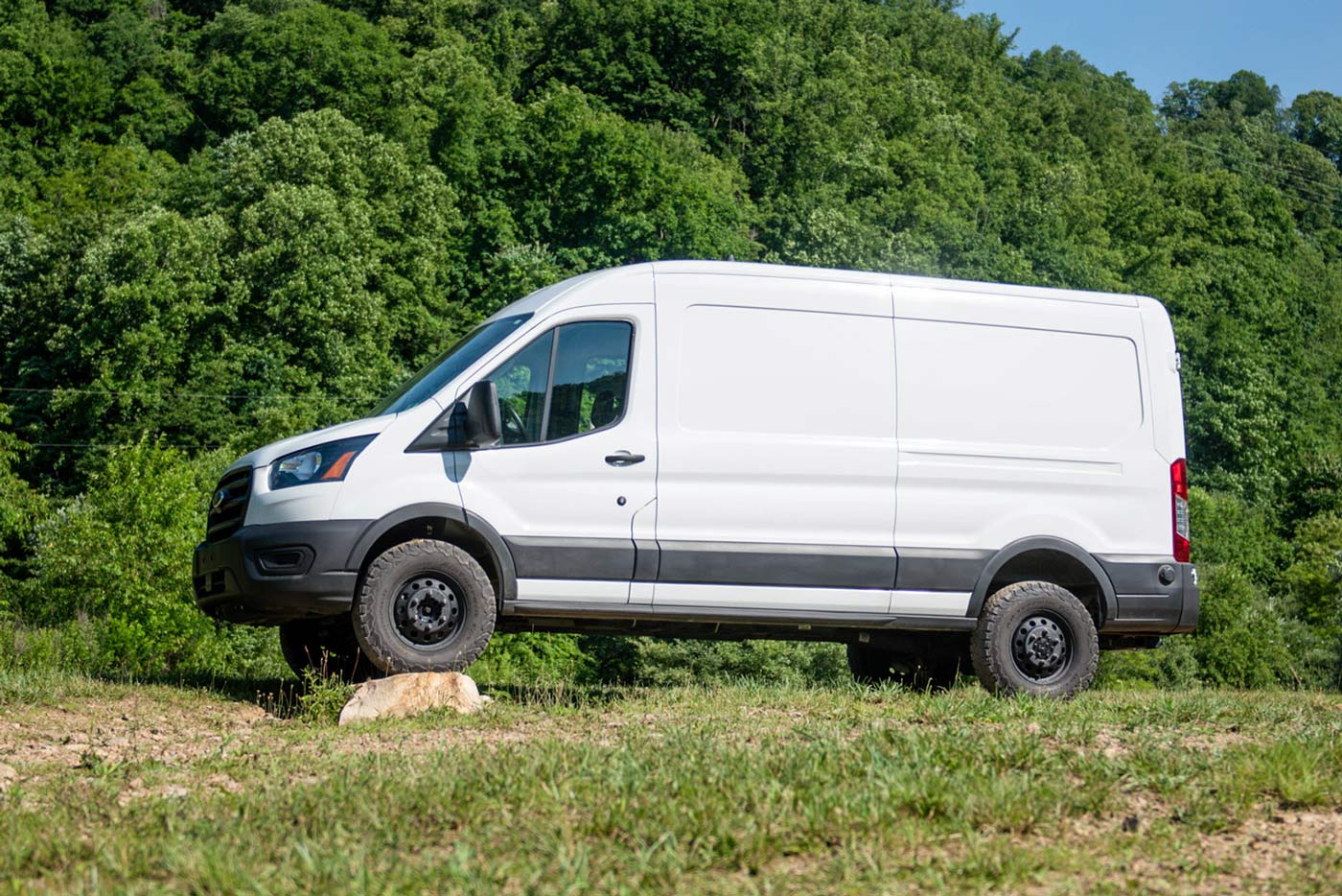 quigley q lift kit for ford transit camper vans