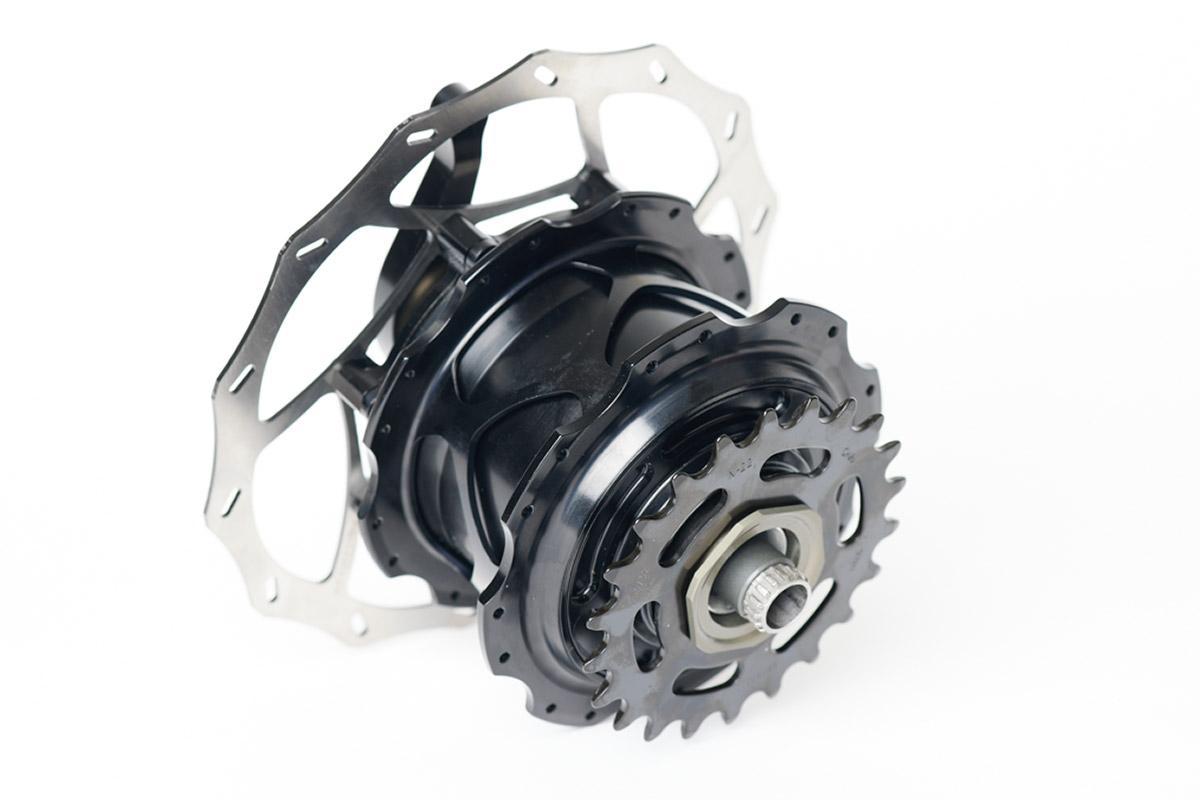 kindernay vii 7 speed internal gear hub