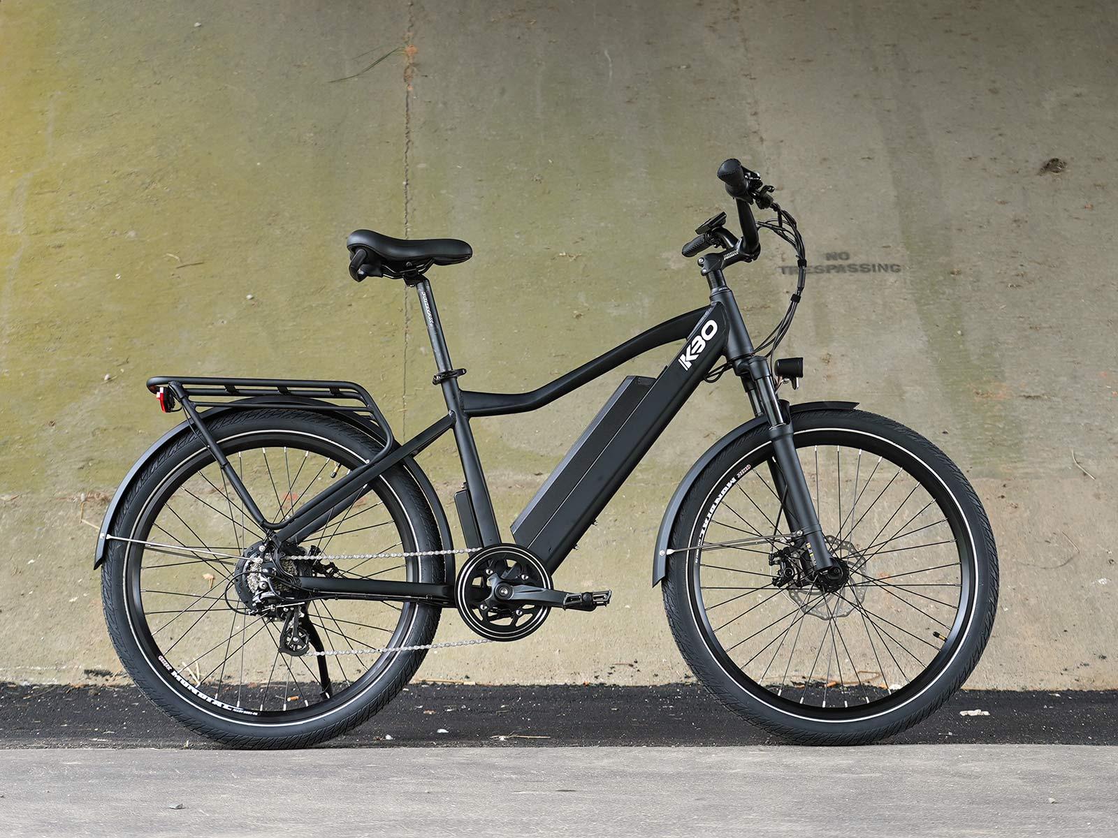 kbo breeze commuter e-bike side profile