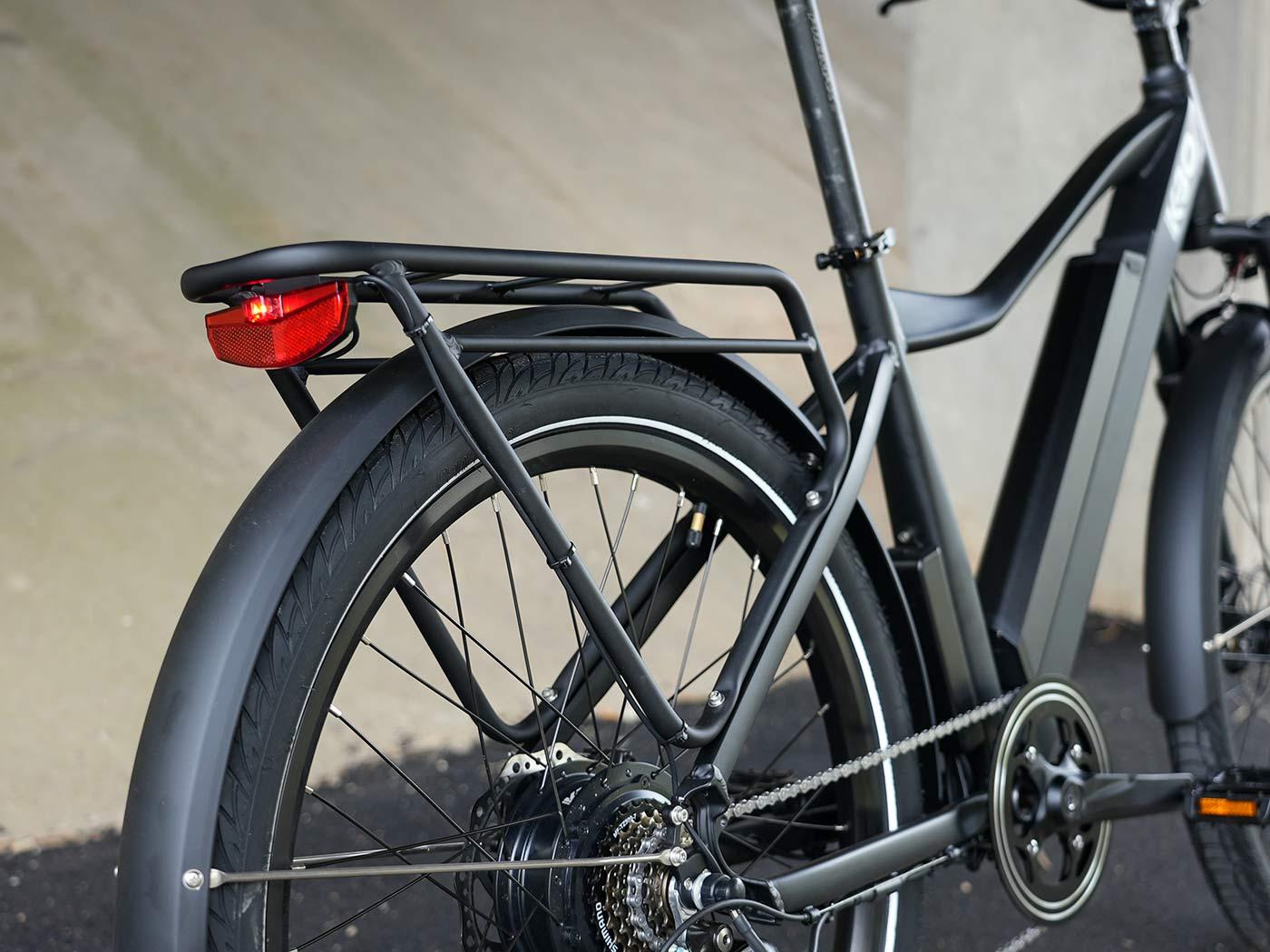 kbo breeze commuter e-bike rear rack