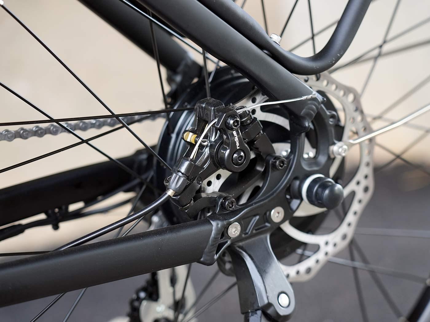 kbo breeze commuter e-bike disc brakes