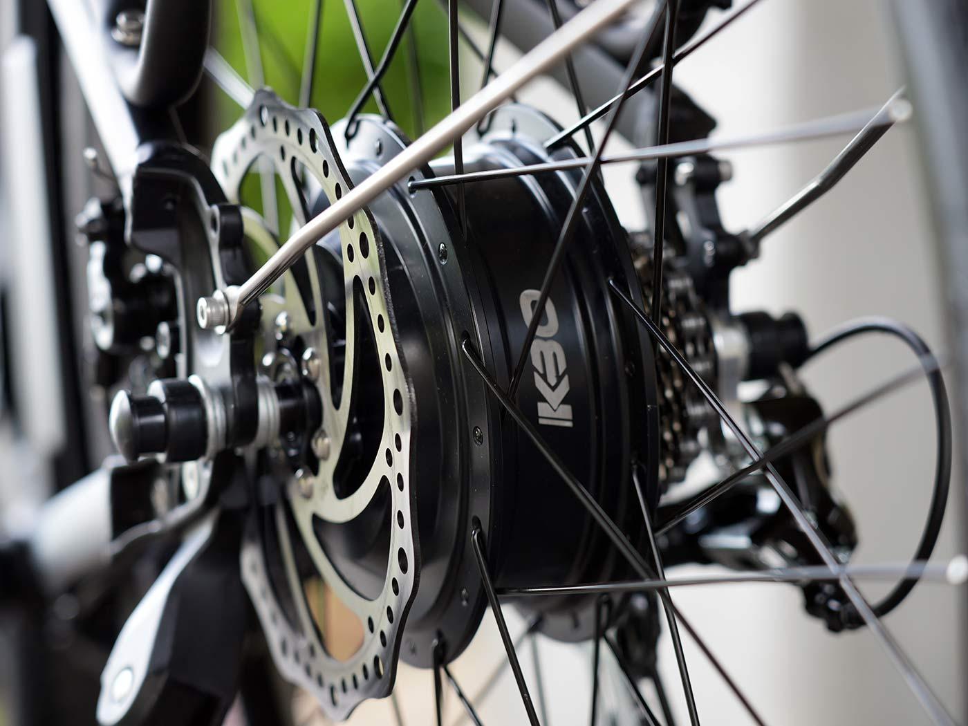 rear hub motor for the kbo breeze commuter e-bike