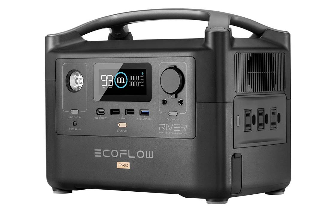 ecoflow river pro high energy portable power pack for off grid