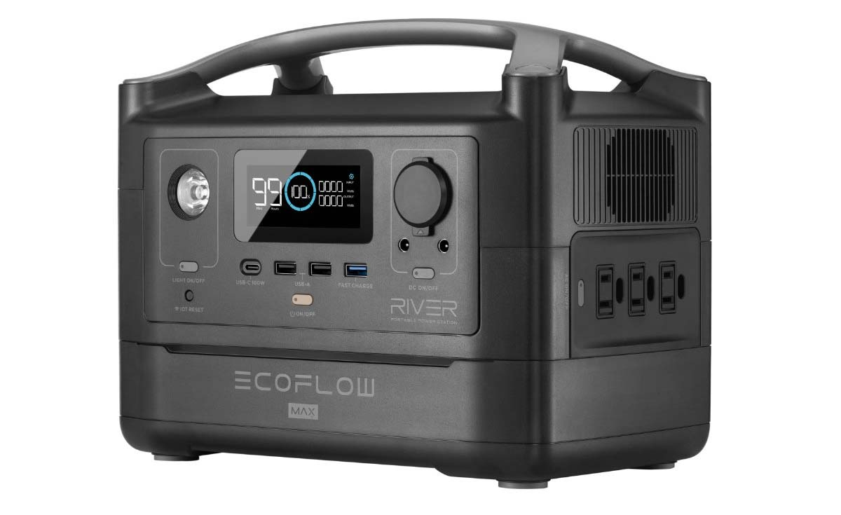 ecoflow river max high energy portable power pack for off grid