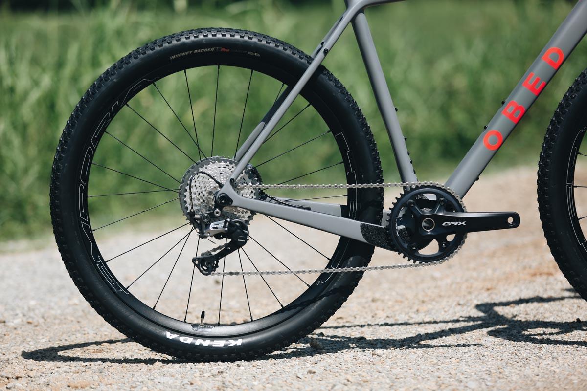 650b tires on gravel bike