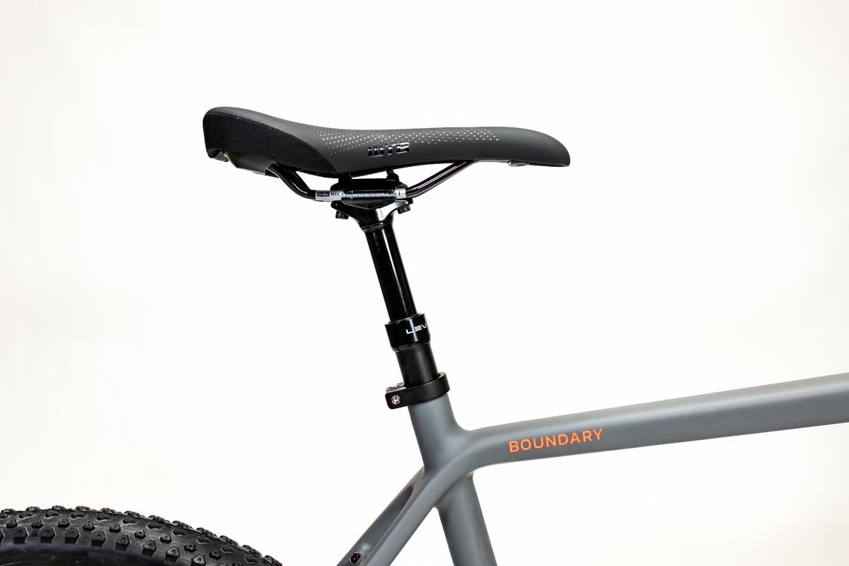 dropper post on gravel bike
