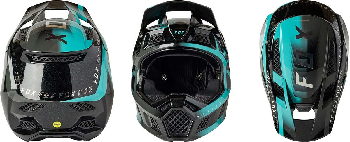 2021 fox racing rampage pro carbon mips full face helmet