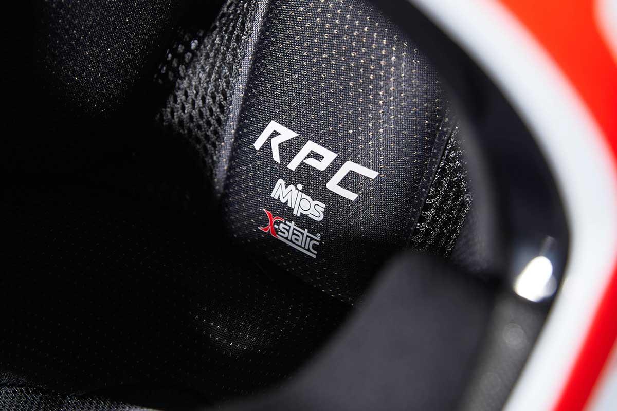 2021 fox racing rampage pro carbon mips full face helmet x-static comfort liner