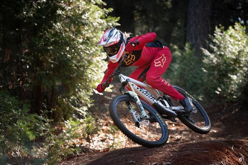 2021 fox rampage pro carbon full face helmet downhill mountain biking cody kelley