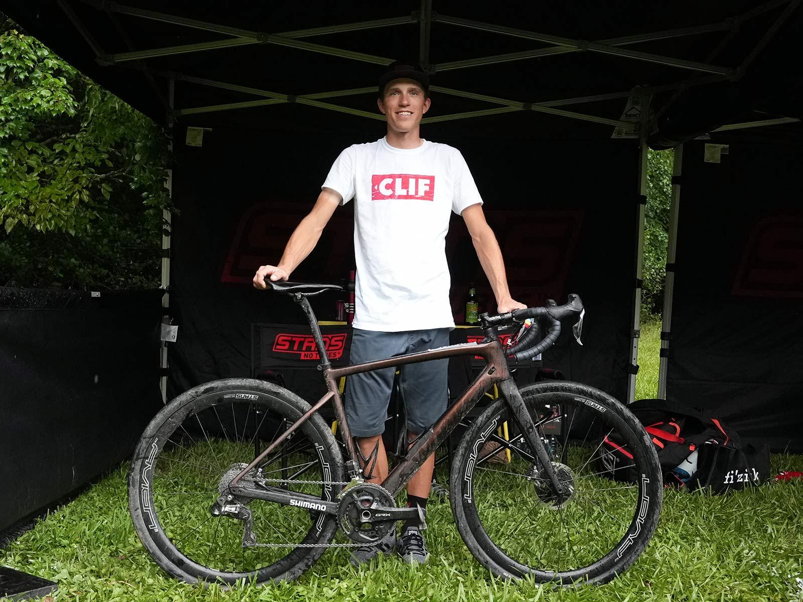 russell finsterwald pro bike check