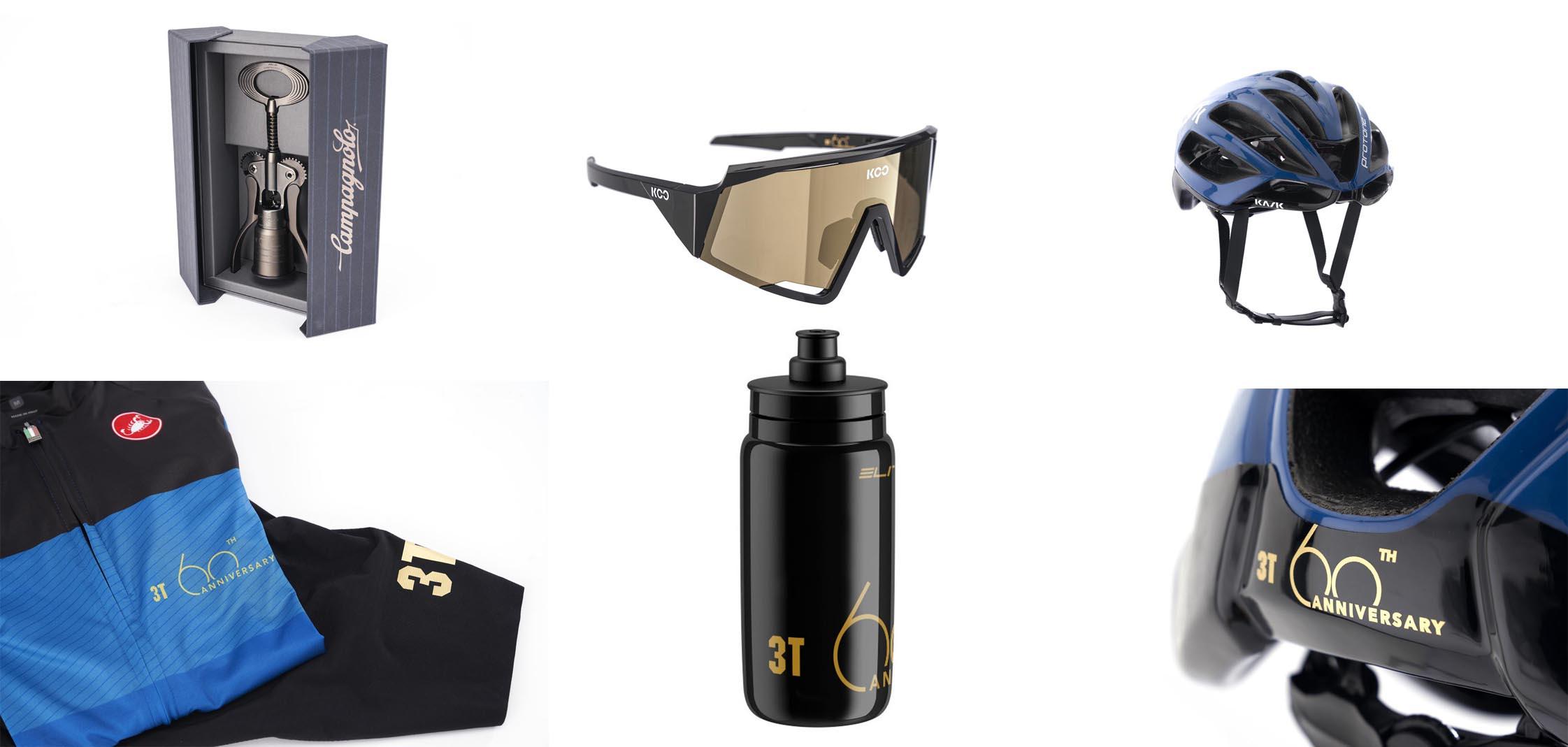 3T 60th Anniversary Dreambox custom apparel fizik castelli kask koo