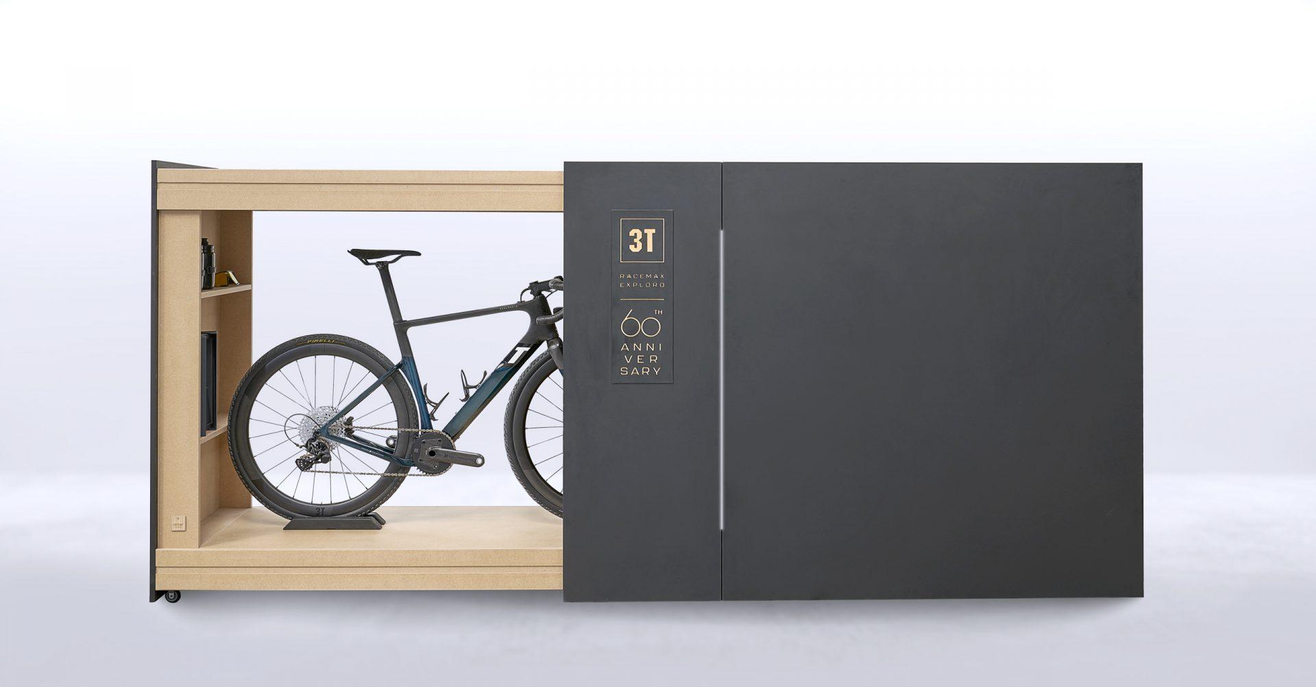 3T 60th Anniversary Dreambox bike storage garage