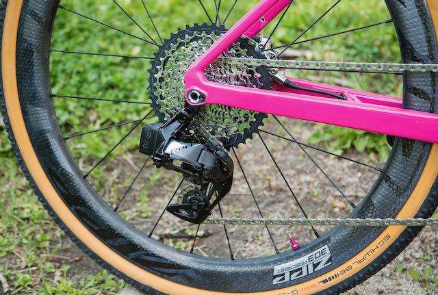 SBT GRVL cromwell Pro bike check rear derail