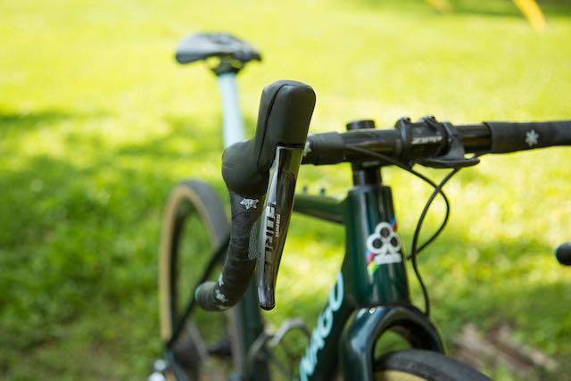 SBT GRVL DeCrescenzo bike name SRAM shifter