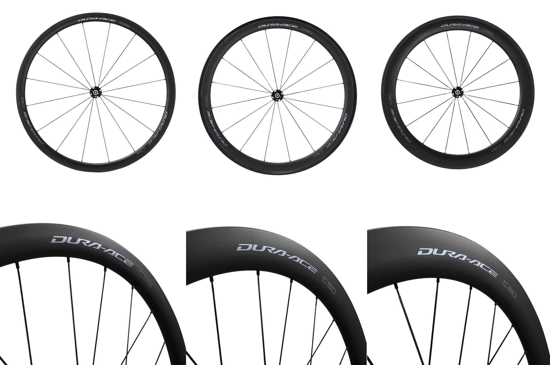 Shimano Dura Ace c36 c50 c60-HR wheels