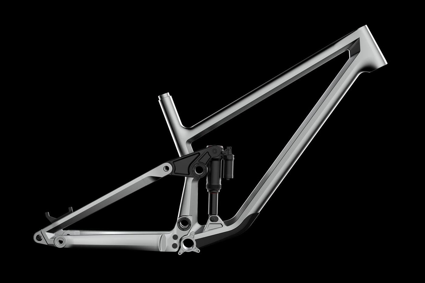 unite co billet 158mm aluminium mtb frame uk made
