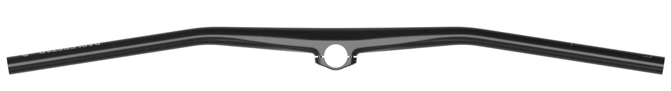Faserwerk Baslerstab direct-mount lightweight carbon MTB handlebar, top