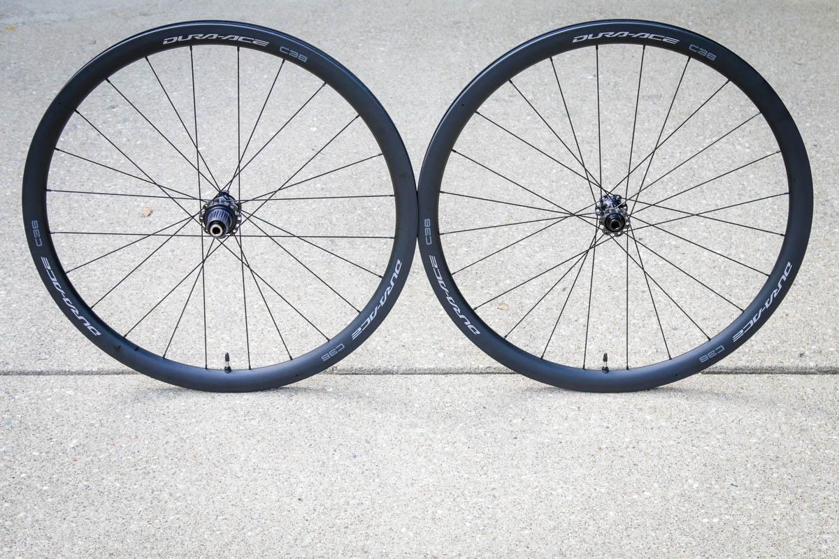 Dura-Ace 9200 C36 carbon wheels