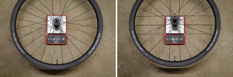 Shimano C36 dura ace wheels actual weight 12 speed