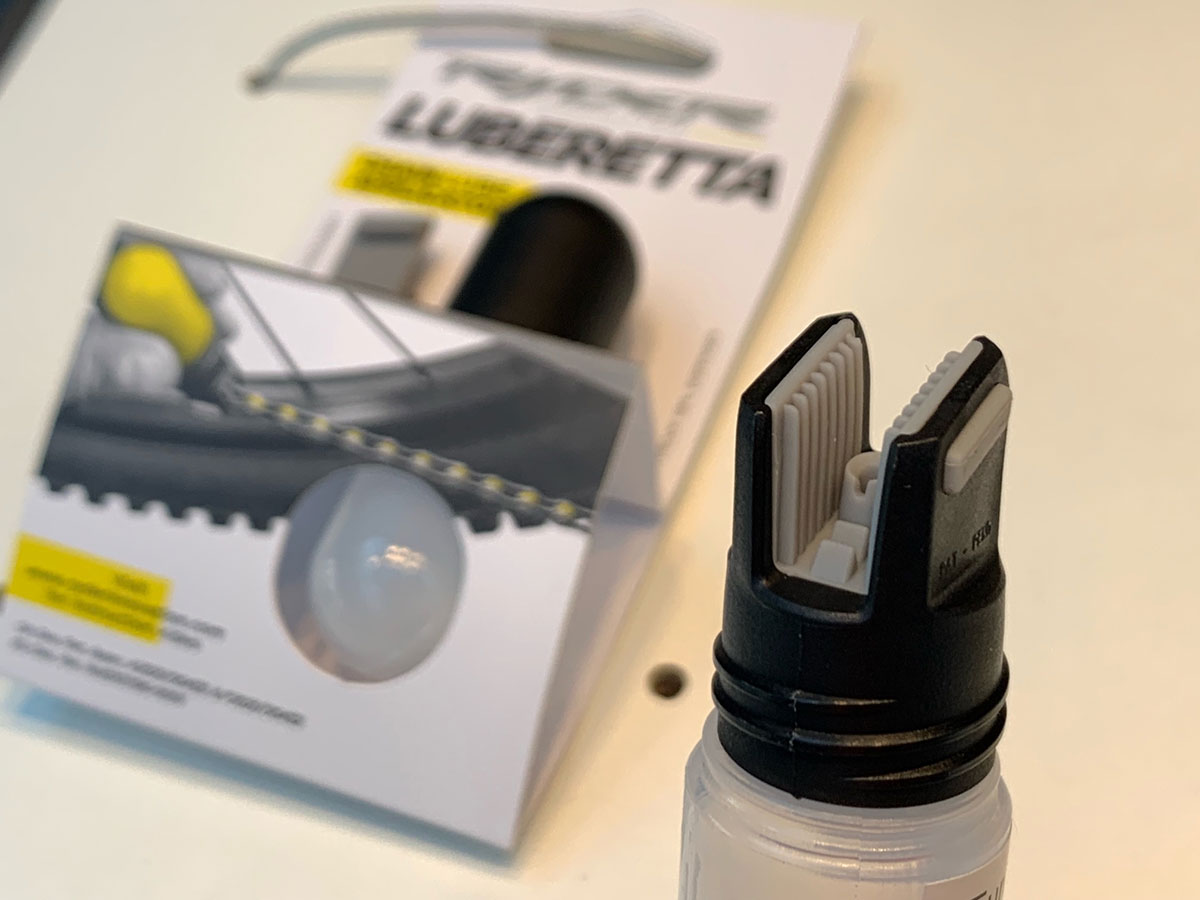 ryder innovation luberetta chain lube applicator head fins