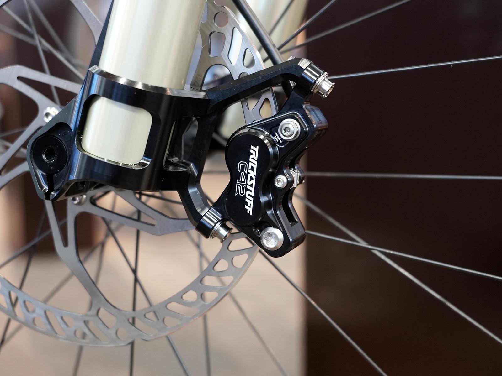 trickstuff c42 4-piston disc brake calipers for mountain bikes