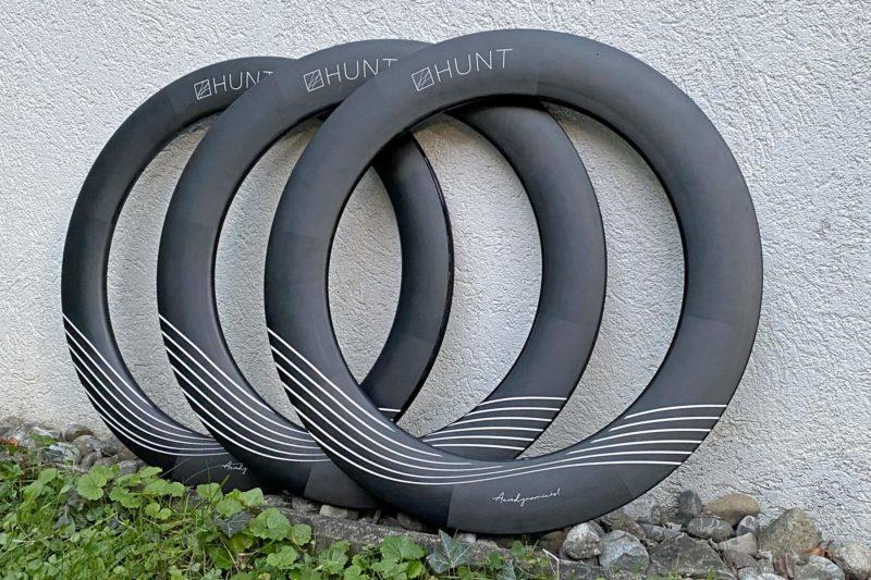 Hunt deep Aerodynamicist aero carbon TT Triathlon wheels