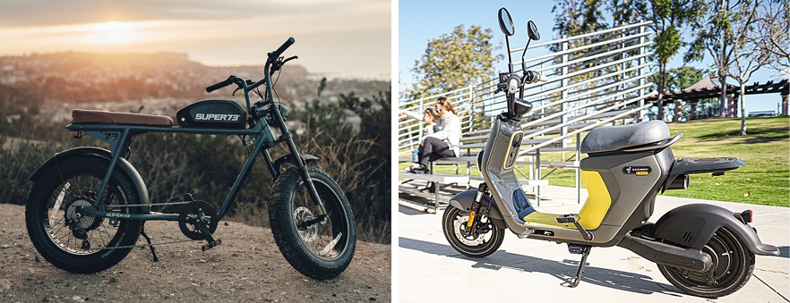 electric bikes and mobility devices at Best Buy