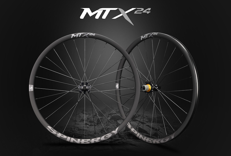Spinergy MTX 24 wheelset