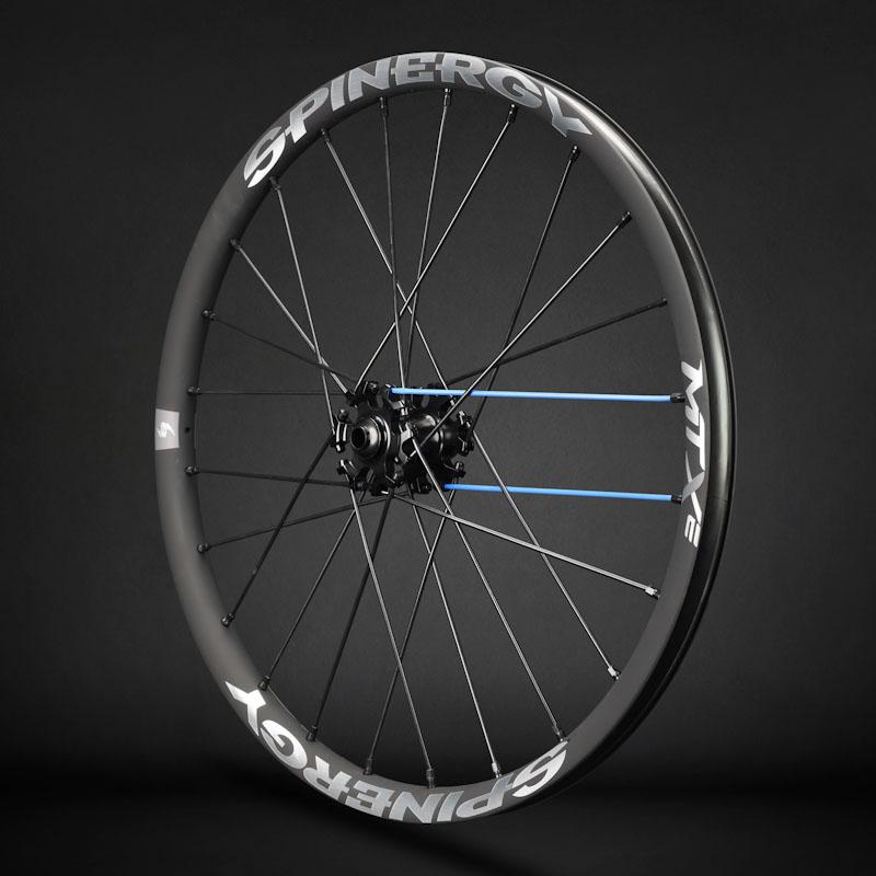 Spinergy MTXe front wheel