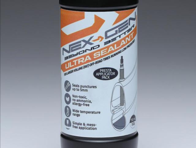 Nex-Gen Ultra Sealant bottle close up