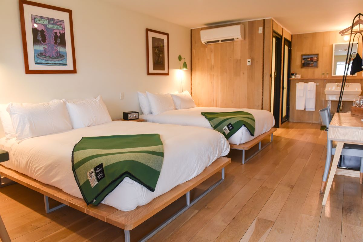 A Dogfish Inn bedroom