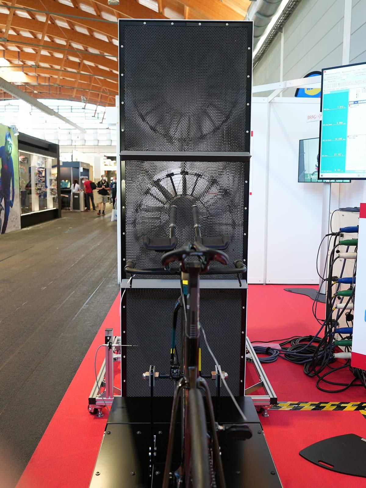 aero optim mini modular wind tunnel for testing bicycle aerodynamics and drag