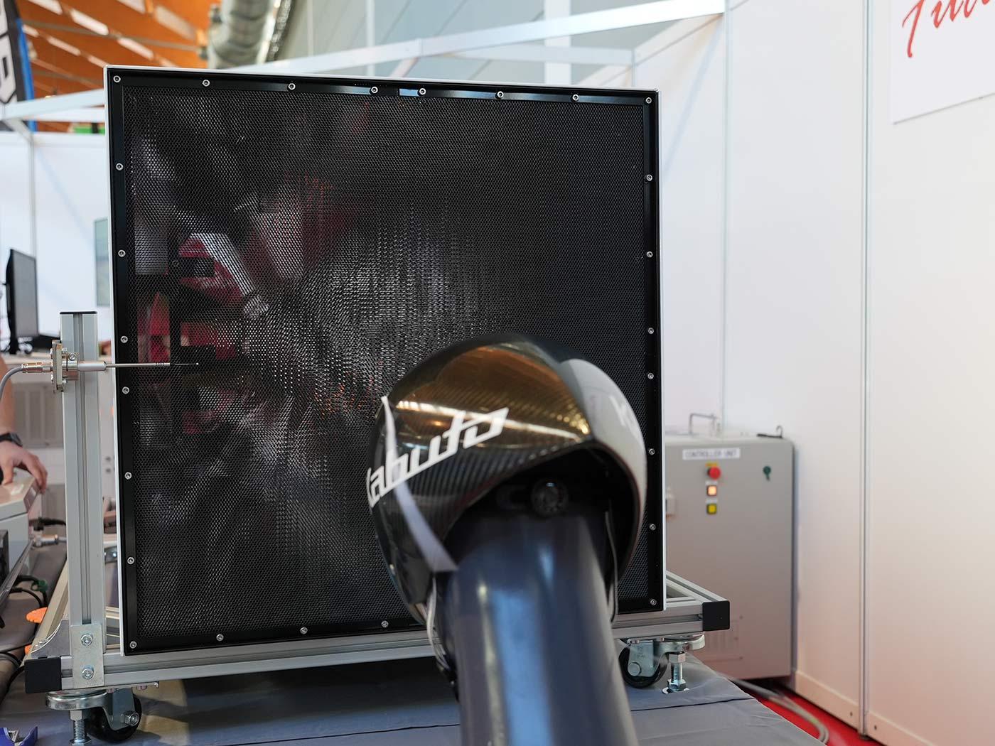 mini wind tunnel for small parts aerodynamic testing