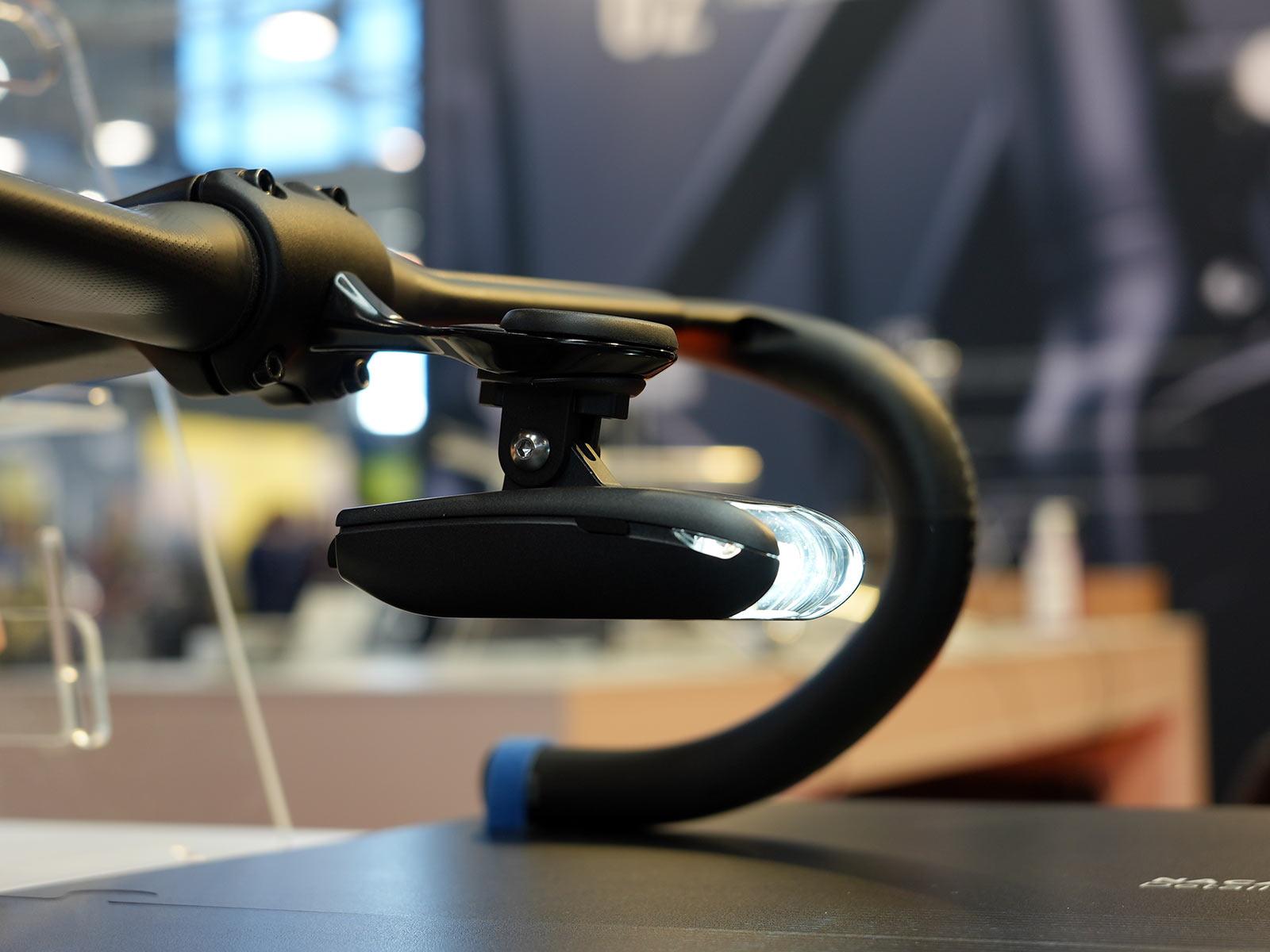 lightskin naca profile aerodynamic bicycle head light