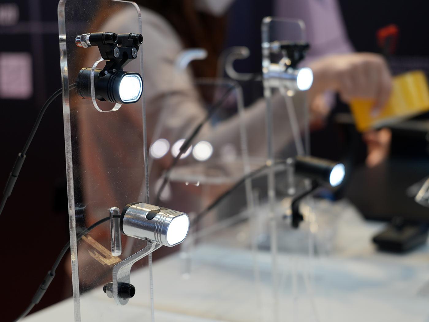 lightskin smallest dynamo powered bicycle headlights