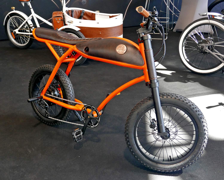 Rayvolt Django cafe racer e-bike cruiser