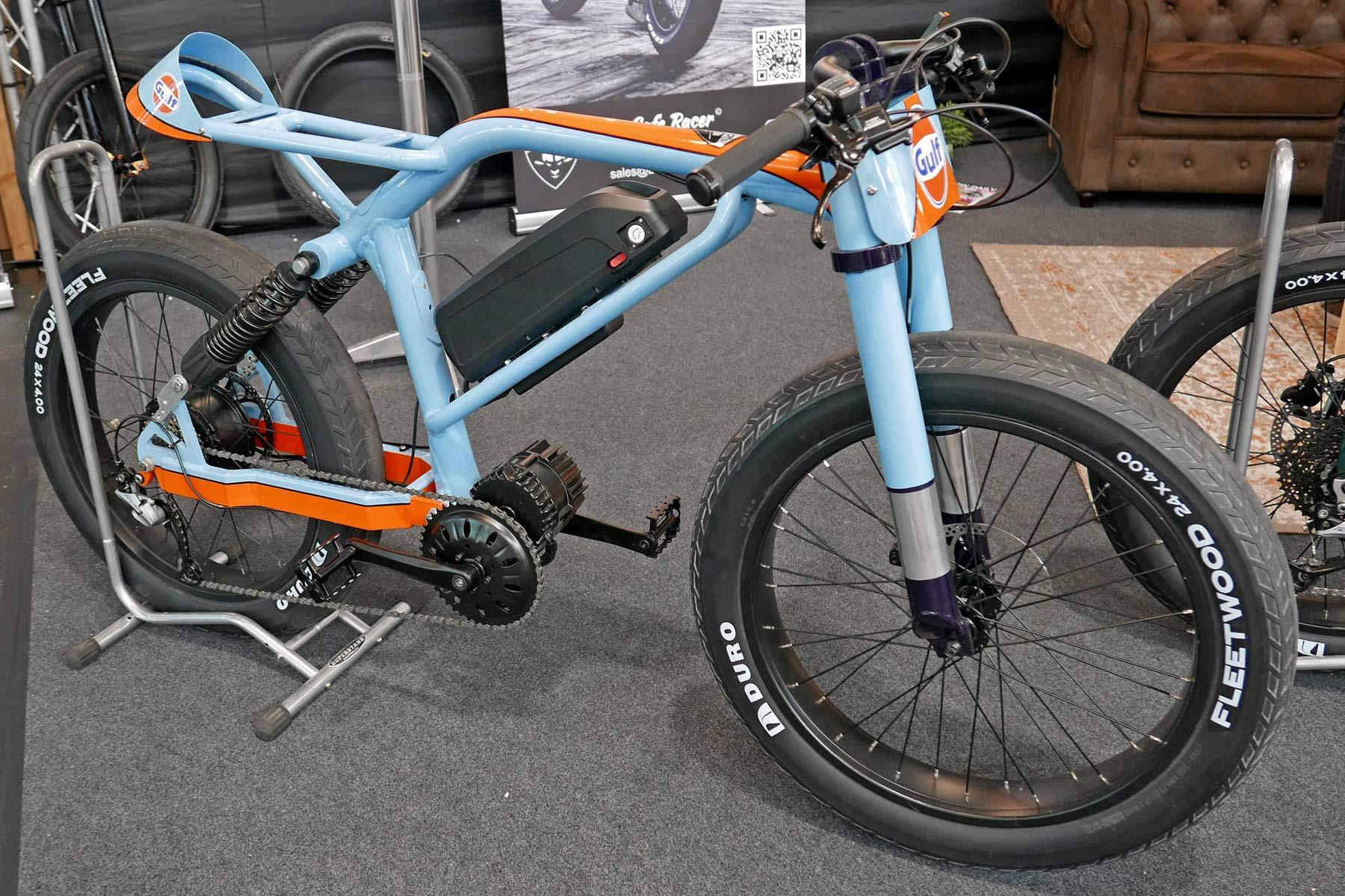 Aevon Le Cafe Racer custom e-bike cruiser project