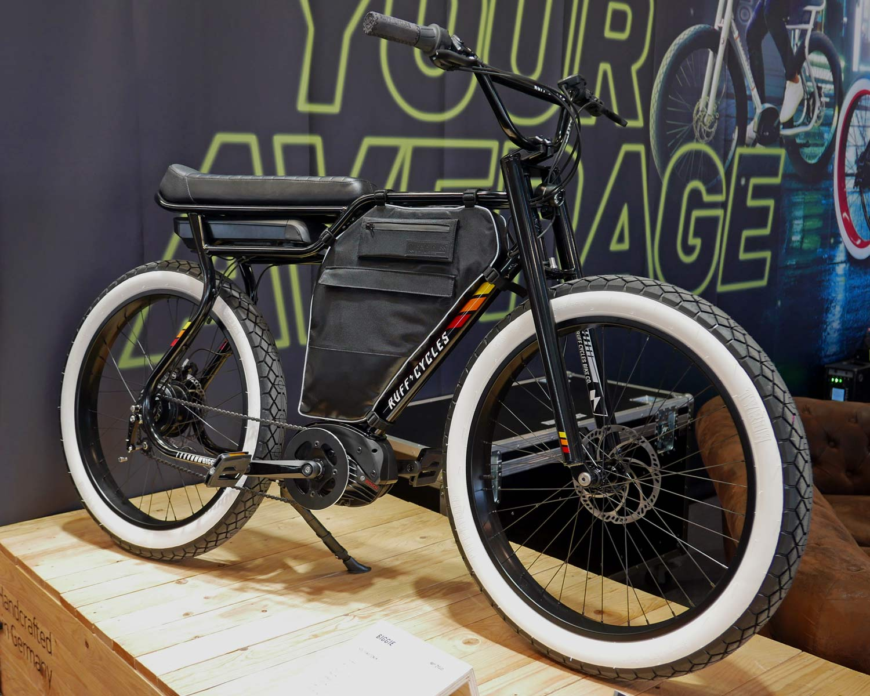 Ruff Cycles Biggie cafe racer e-bike cruiser