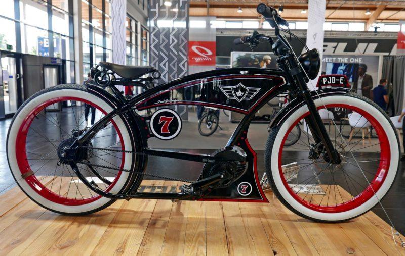 Paul Jr. Designs X Ruff Cycles American Chopper e-bike cruiser