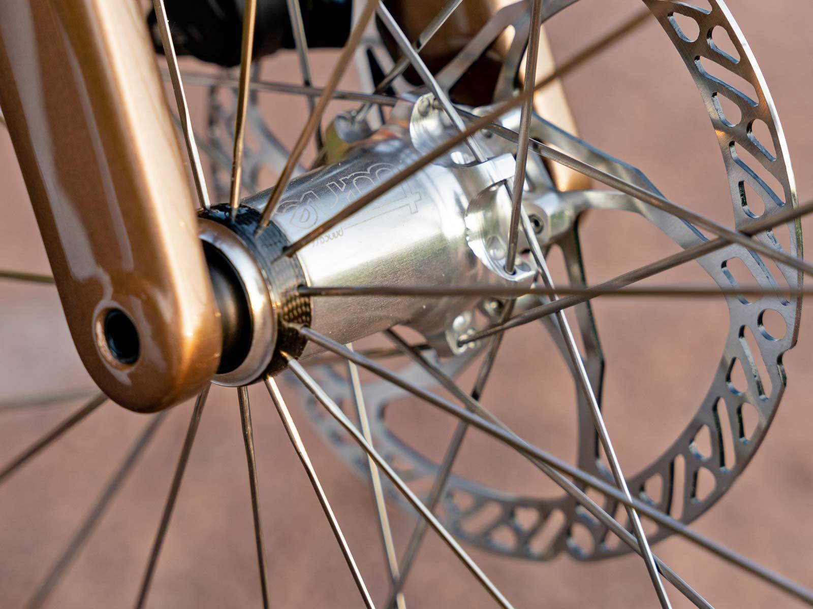custom Scott Addict Gravel Tuned Dangerholm edition lightweight carbon prototype gravel bike project,Tune Princess carbon hub