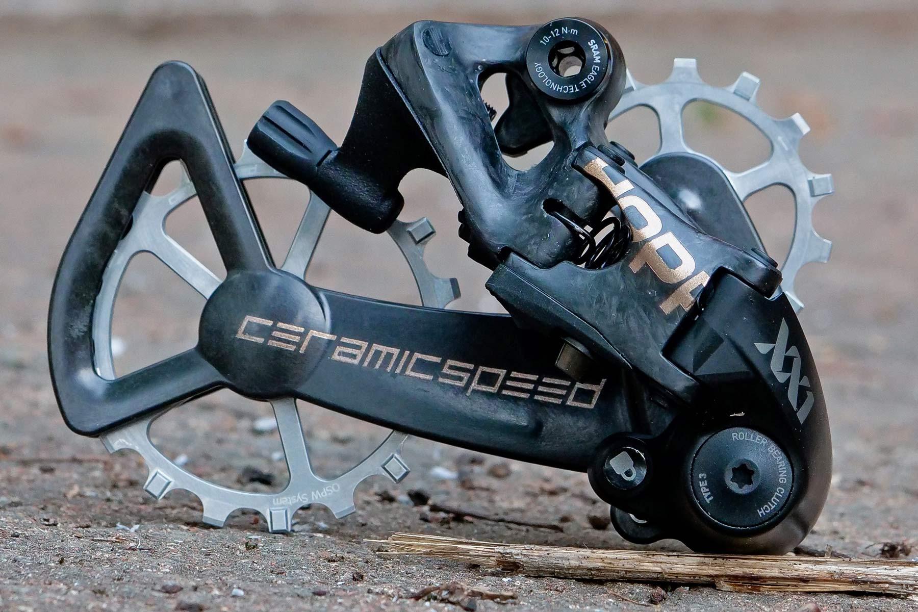 custom Scott Addict Gravel Tuned Dangerholm edition lightweight carbon prototype gravel bike project,Hopp-ed derailleur