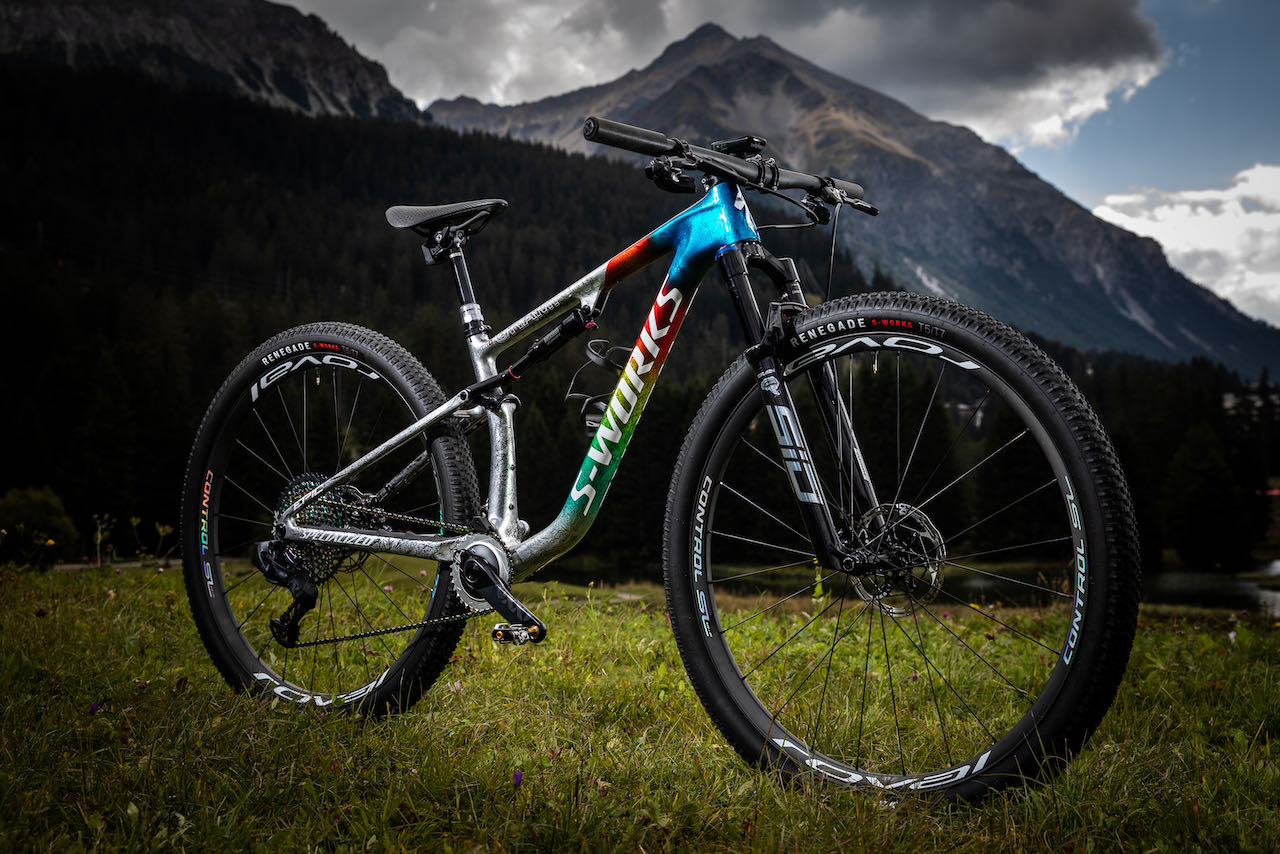 Specialized World Champion limited edition Epic full bike