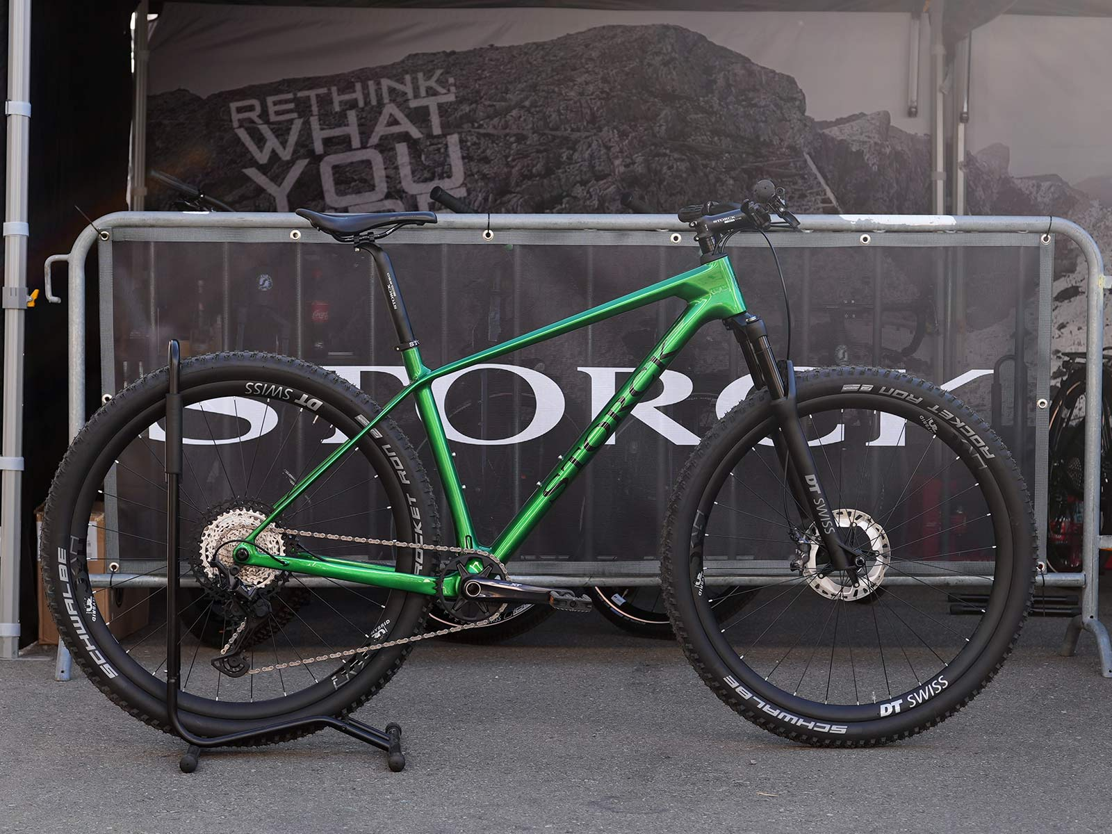 2022 stork rebel 4 lightweight carbon hardtail mountain bike