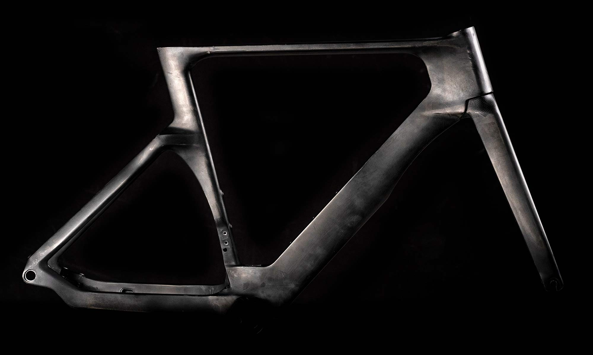 2022 Orbea Orca Aero carbon road bike, frameset