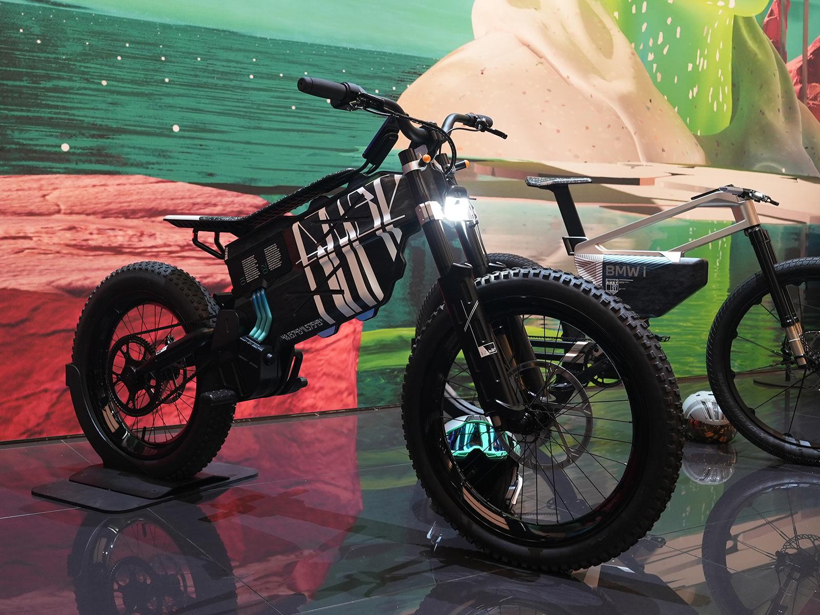 bmw electric moto bike concept