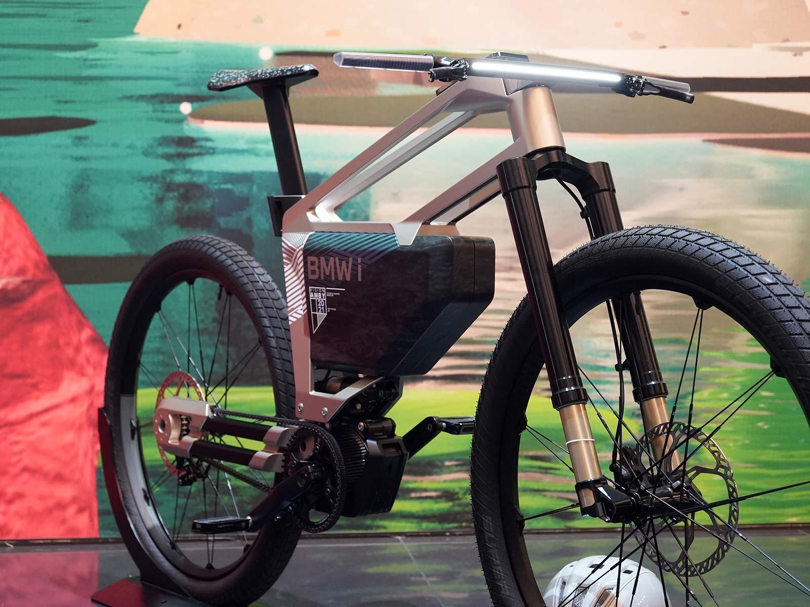 BMW e-mountain bike concept at IAA Mobility show