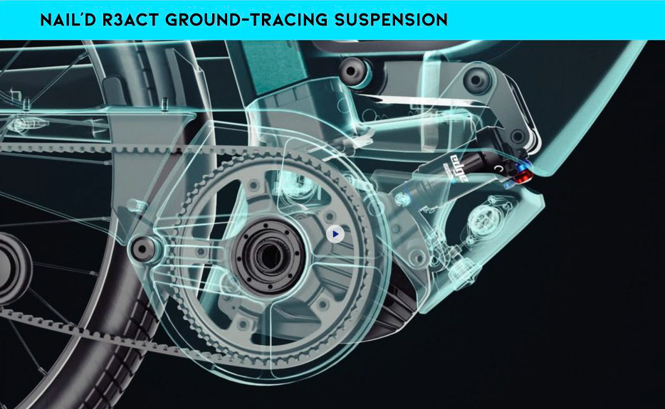 Vaast Nail'd R3act Ground Tracing Suspension