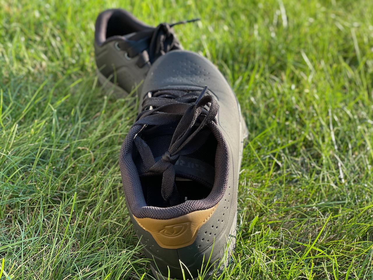 Giro Latch MTB shoes deep heel cup