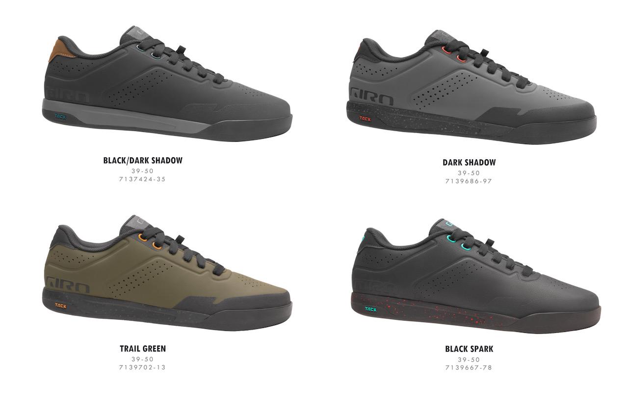 Giro Latch MTB shoes full offering